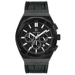 Paul Rich Motorsport Carbon Fiber Black Leather MCF01-L horloge 45 mm