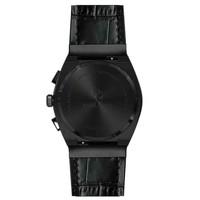 Paul Rich Paul Rich Motorsport Carbon Fiber Black Leather MCF01-L horloge 45 mm