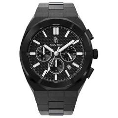 Paul Rich Motorsport Carbon Fiber Black MCF01 horloge 45 mm