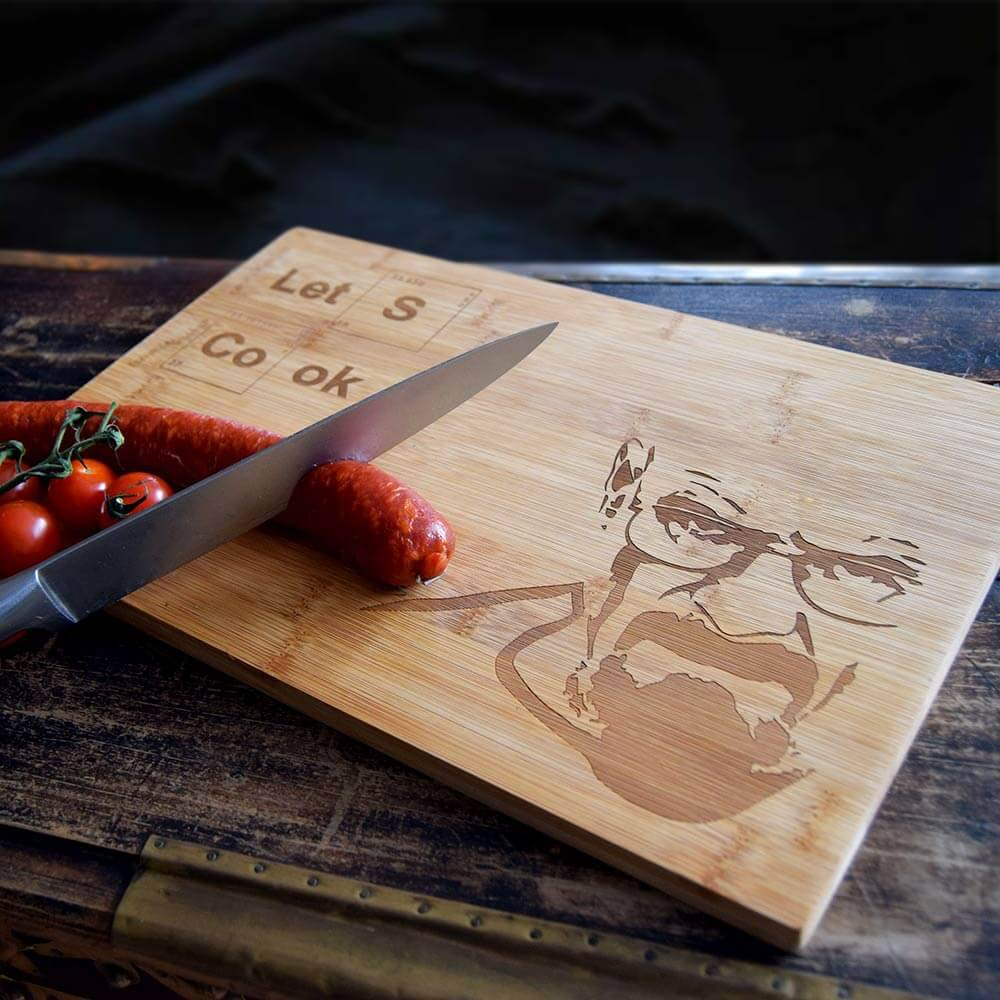 Let's Cook Cutting Board-1
