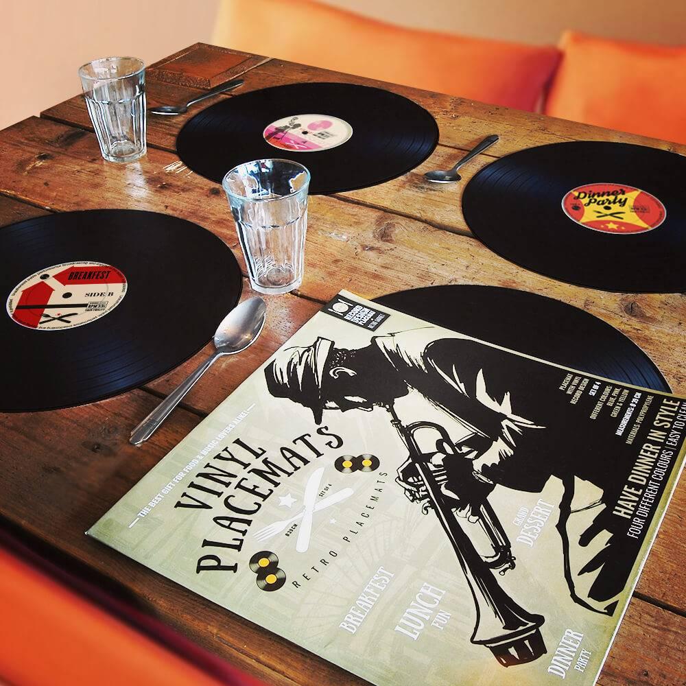 Placemats retro vinyl-1