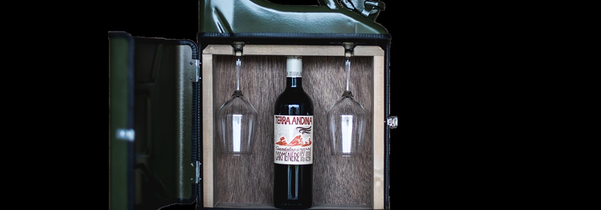 Jerrycan wijn bar