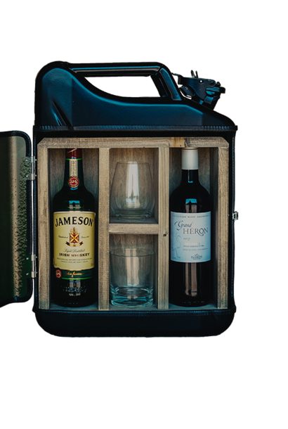 Jerrycan his & hers bar