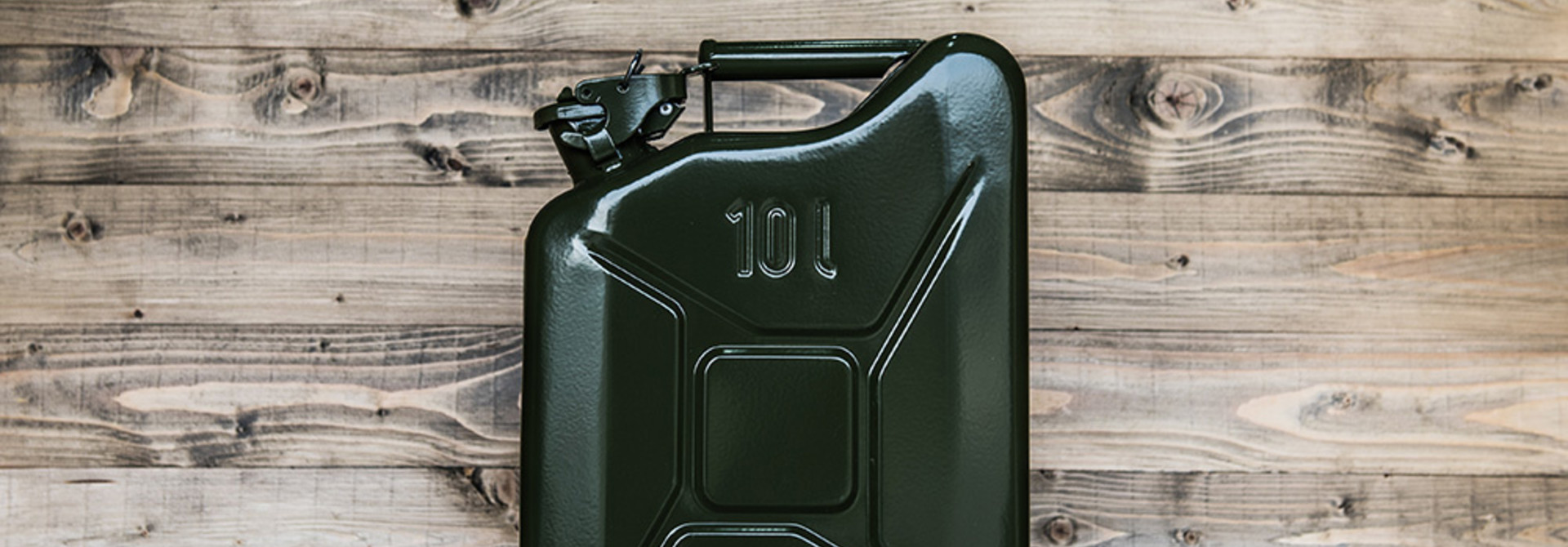 Steel jerrycan 10L