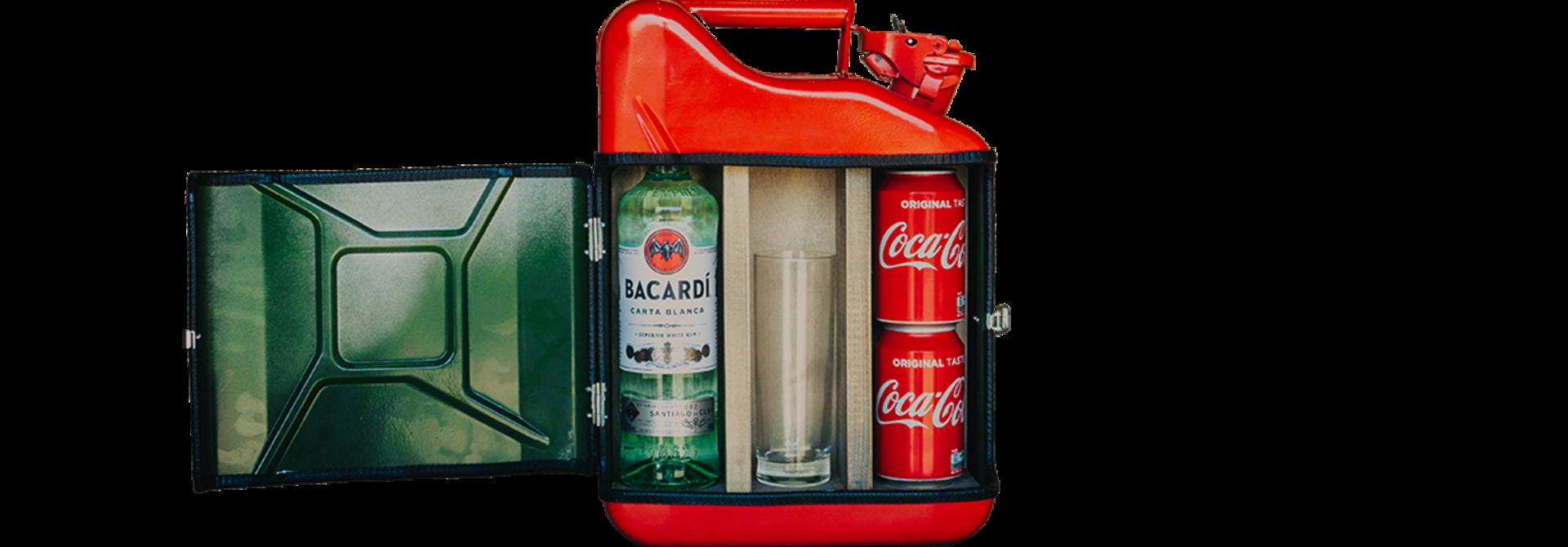 Bacardi gift set