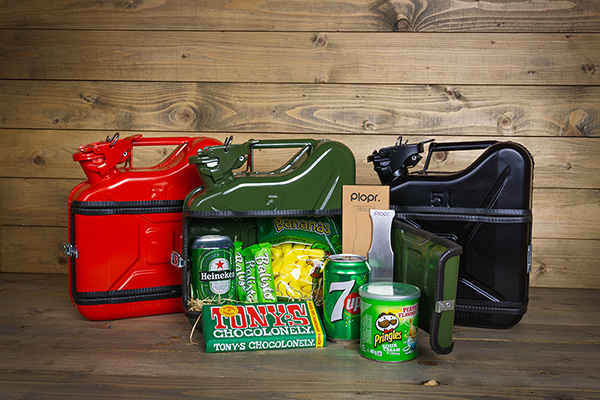Jerrycan 5L green Christmas package