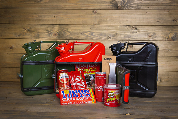 Jerrycan 5L Christmas package red