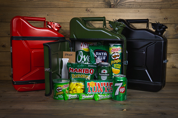 Jerrycan Christmas package green