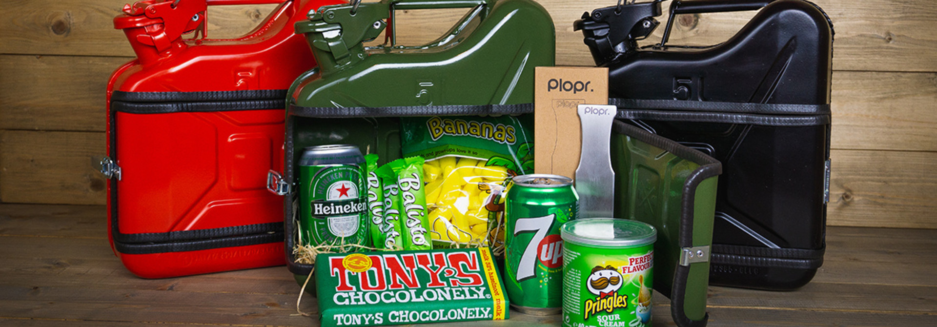 Jerrycan 5L Christmas package green