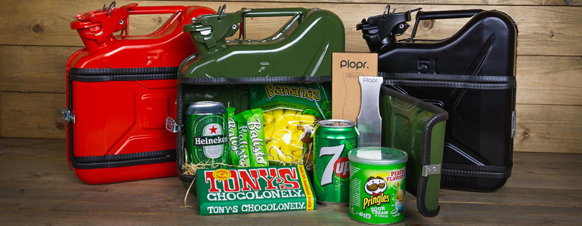 Jerrycan 5L Kerstpakket groen