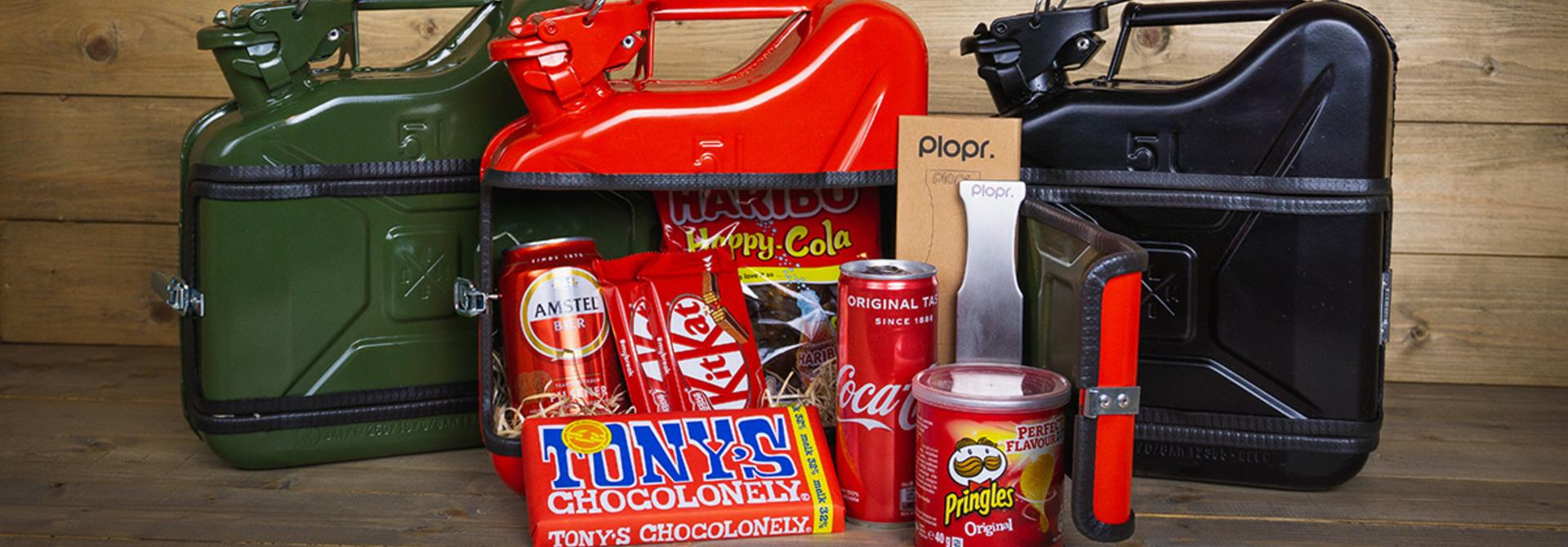 Jerrycan 5L Kerstpakket rood