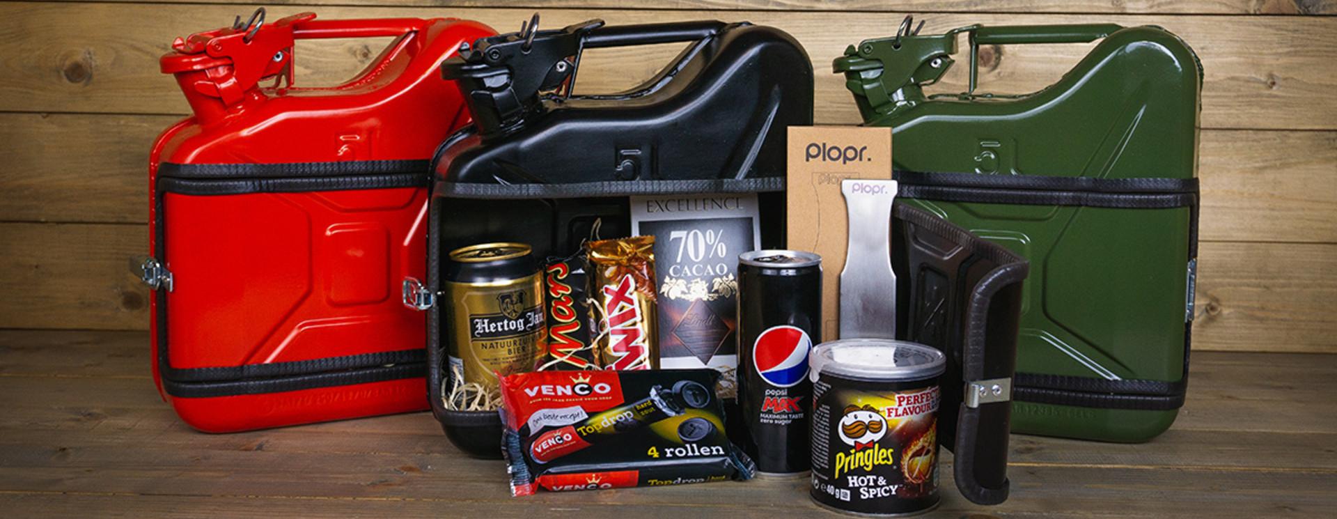 Jerrycan 5L Kerstpakket zwart