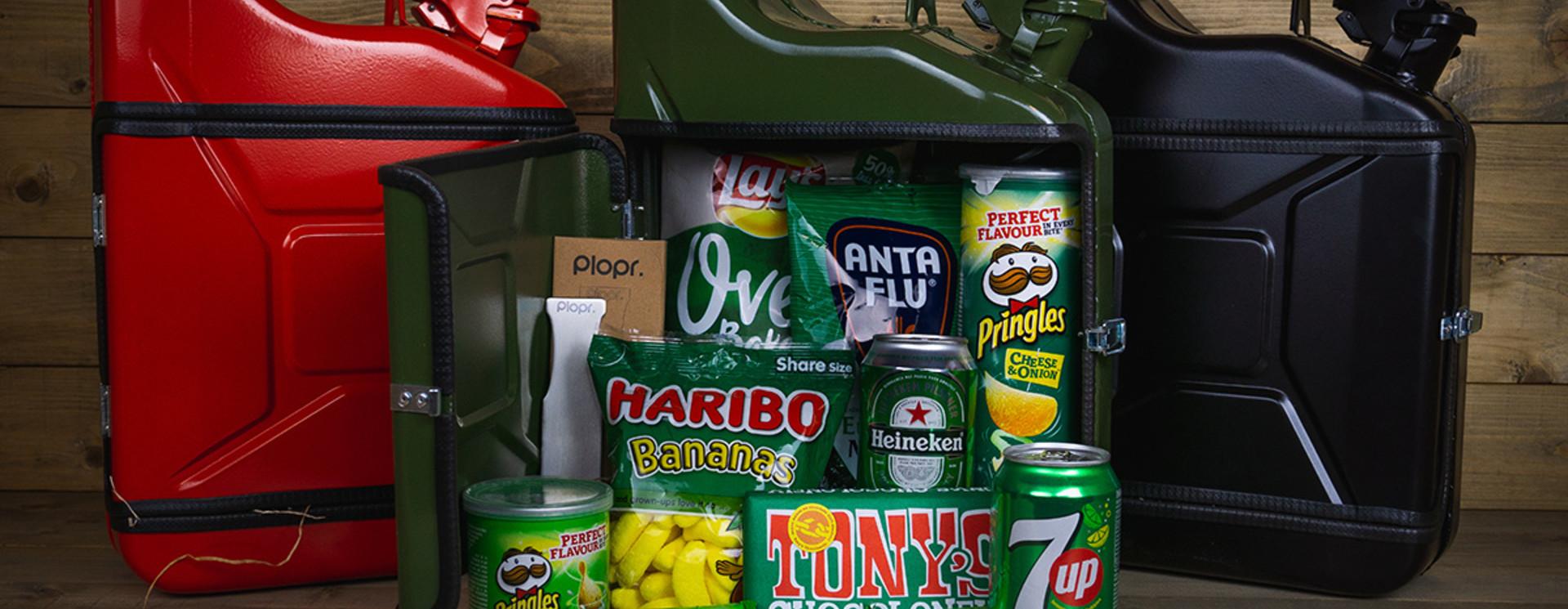 Jerrycan 10L Kerstpakket groen