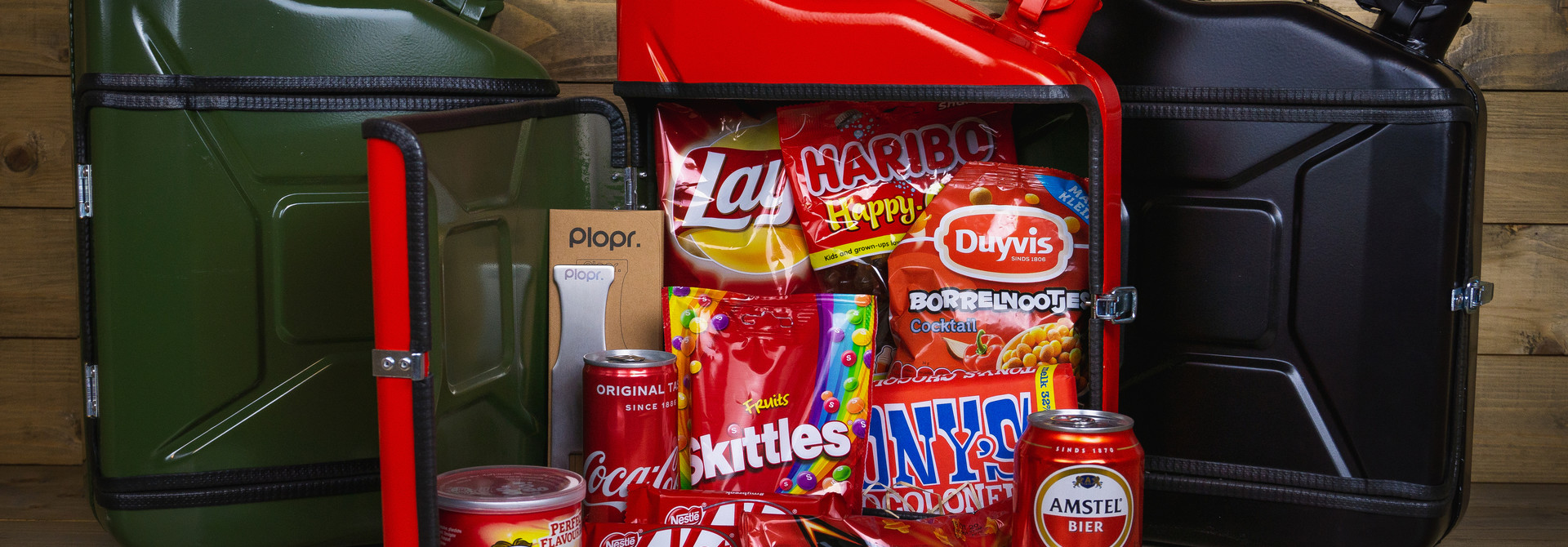 Jerrycan 10L Kerstpakket rood