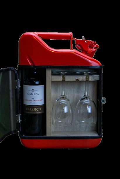 Jerrycan mini wine bar