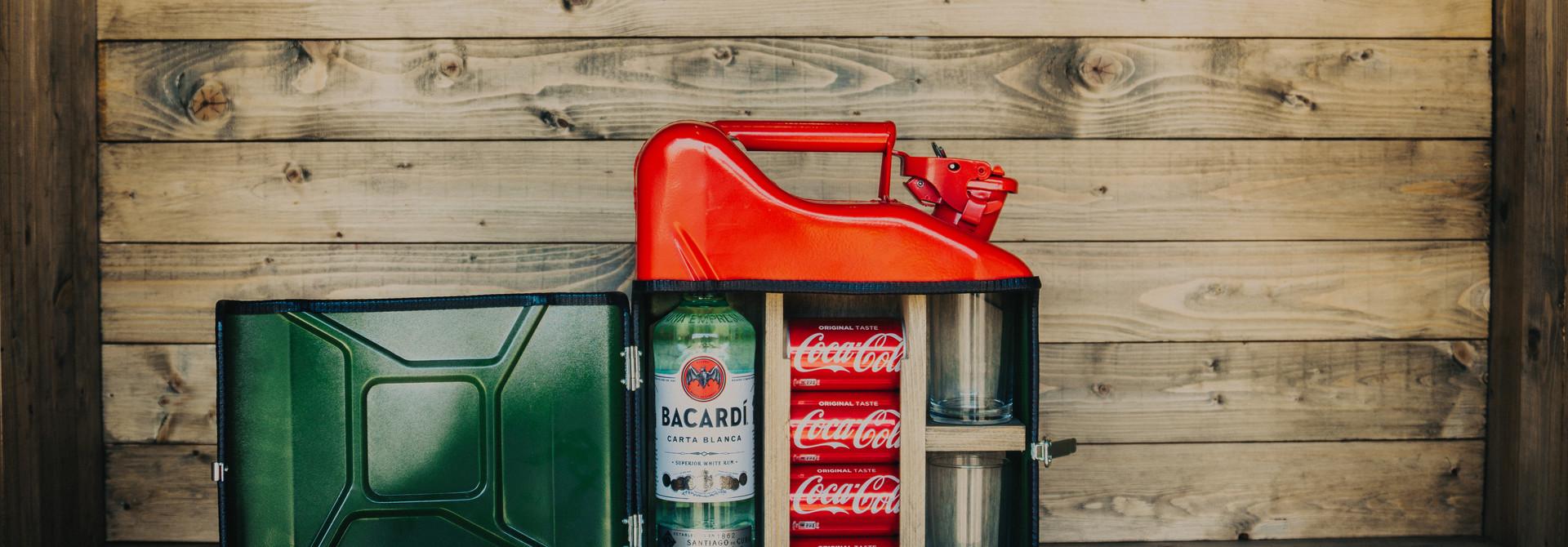 Jerrycan mini bar