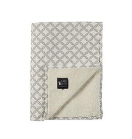 Mies & Co Soft teddy deken geo circles 110 x 140