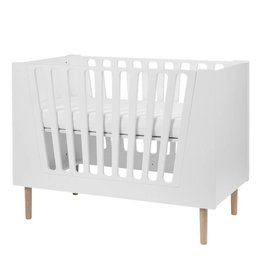 hoorens Baby cot, 60 x 120 cm, white
