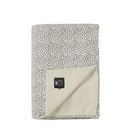 Mies & Co Mies & Co Deken 110x140Cm Teddy Blanket Big Cozy Dots