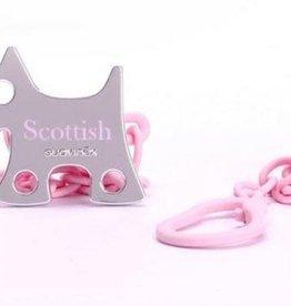 Suavinex SX - ROSE & BLUE - Speenketting Pink