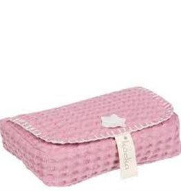 koeka Baby wipes cover Anwerp - Blush Pink