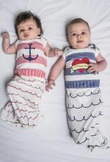 Babybites Slaapzak babygown Sailor Blue stripes