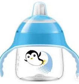 Avent Lekvrije Pinguin beker 200ml Blauw