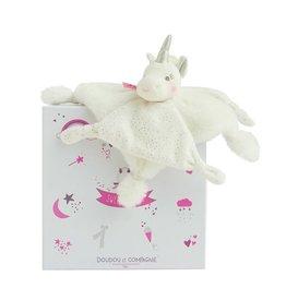 Doudou et compagnie Doudou unicorn goud