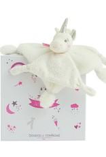 Doudou et compagnie Doudou Unicorn zilver