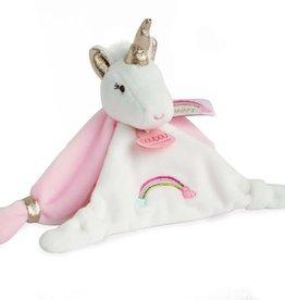 Doudou et compagnie Doudou Unicorn Rainbow