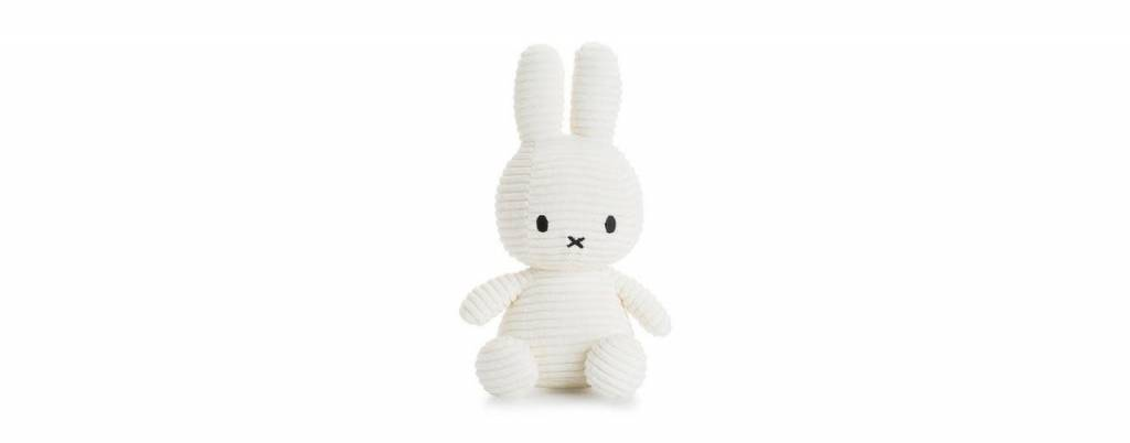 Bon Ton Toys Nijntje Corduroy Wit 24cm