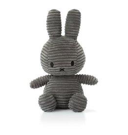 Bon Ton Toys Nijntje Corduroy Grijs 24cm
