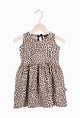 House Of Jamie Oversized summer dress Caramel Leopard