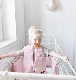 House Of Jamie Slaapzak Geo Jacq - Powder pink baby 70 cm