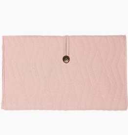 House Of Jamie Travel changing mat Geo Jacq - Powder pink