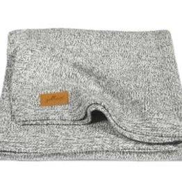 Jollein Deken 75x100cm Stonewashed knit grey