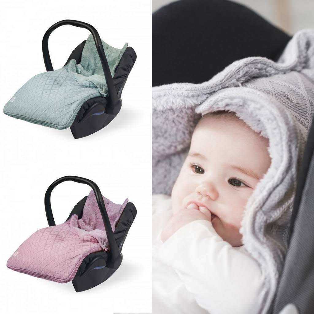 Jollein Comfortbag 0 tot 9 maanden stoel Diamond knit vintage pink