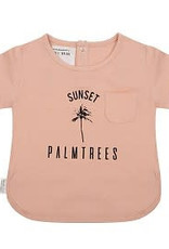Little Indians Tshirt Sunset Dusty Coral