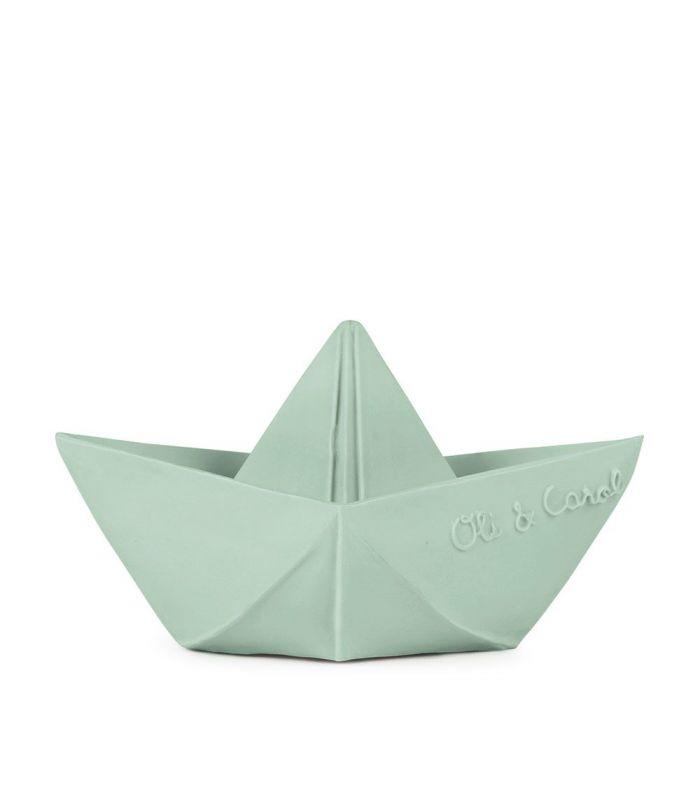 origami Boat mint