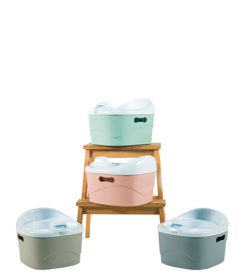 Diaper champ pottychamp 3 in 1 potje light pink