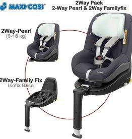 maxi cosi 2 way pearl Confetti met 2 wayfix basis