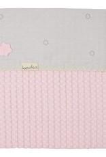 koeka Deken 75x100 Love me sweet - Old baby pink