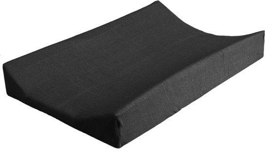 Jollein Waskussenhoes Superieur 50x70cm zwart