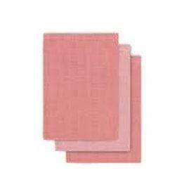 Jollein Washandjes 3-pack Coral Pink