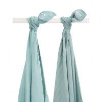 Jollein Swadlle 115x115cm 2-pack Stone green
