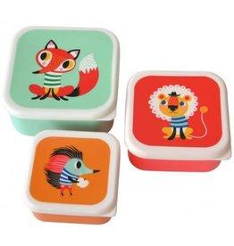 Petit Monkey Set van 3 koekendoosjes Petit Monkey Animals