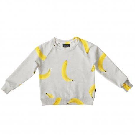 Snurk Banana grey Sweater kids