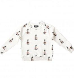 Snurk Rockets sweater Kids M92