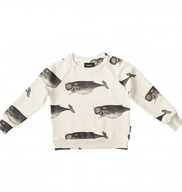 Snurk Whale by the Dybdhahl sweater kids