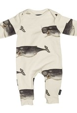 Snurk Whale by the Dybdahl Jumpsuit babies
